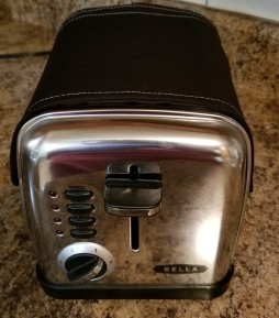 Toaster Huggee Black- Bella Stainless-Steel